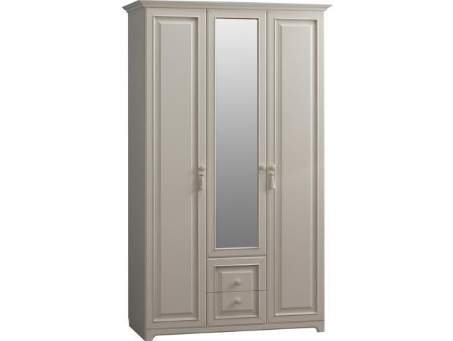 Белла Шкаф 3-створчатый * (белый/джелато софт)
