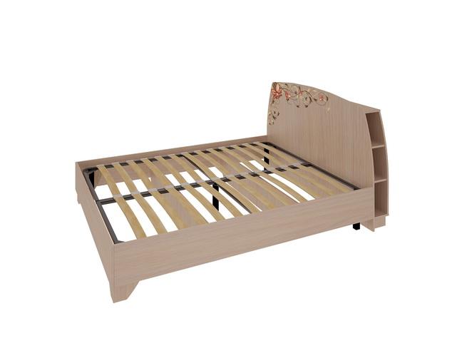 Виктория-2 Кровать 1.4 (дуб млечный)