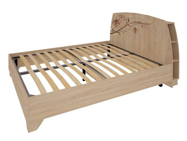 Виктория-1 Кровать 1.6 (дуб сонома)